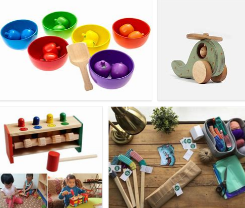 Toddlers Wooden Toys