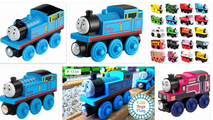 Thomas and Friends wooden toys