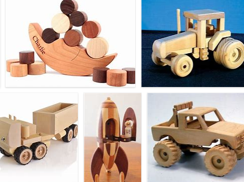 Wooden Toys to Build ,