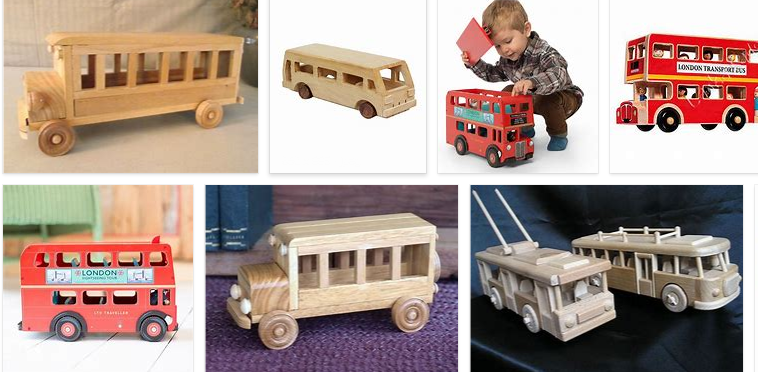 wooden toys bus