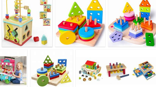 wooden toys for 4 year olds