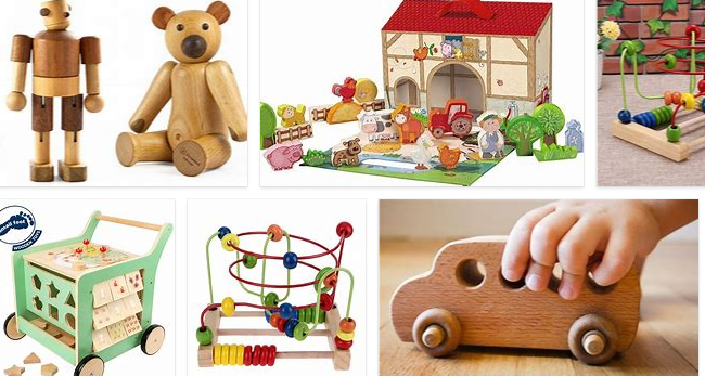 Wooden toys from Malaysia