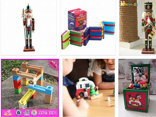 holiday wholesale wooden toys