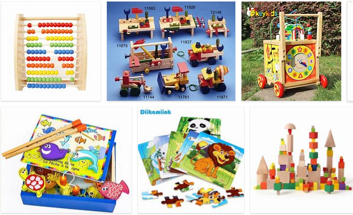 wholesale wooden toys market in China