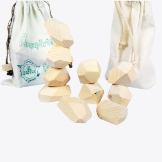 Balance Stones (Tumi-ishi) - Natural Wooden Educational Toys