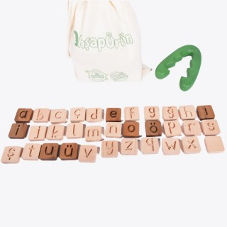 Natural Wooden Alphabet Letter Set