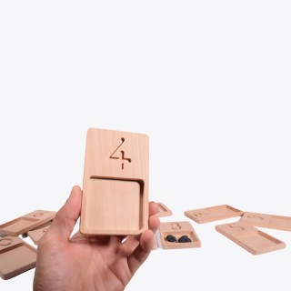Wooden Counting Trays - Montessori