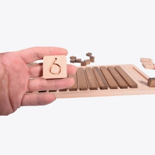 Wooden Advanced Math Set - Educational Toy
