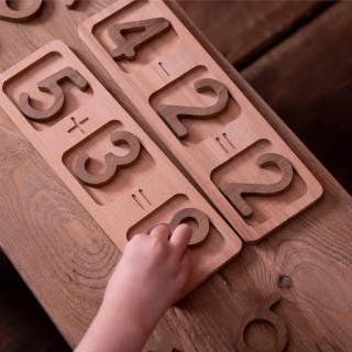 Wooden Math Board Birthday Gift For kids